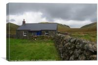 Burleywhag Bothy, Dumfries and Galloway, Scotland, Canvas Print