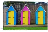 Shell Sheds, Canvas Print