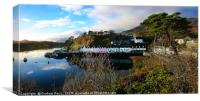 Portree Harbour, Canvas Print