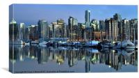 Coal Harbour at Sunset, Canvas Print