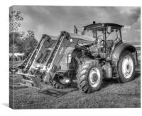 Holland Tractor T5.105, Canvas Print