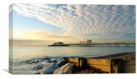 Worthing Pier Sussex, Canvas Print
