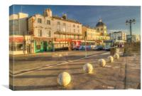 The Parade Worthing, Canvas Print