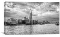 Oncoming Storm London, Canvas Print