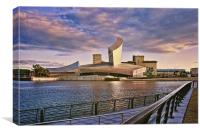 Imperial War Museum North Salford, Canvas Print