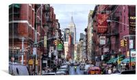 Little Italy, Canvas Print