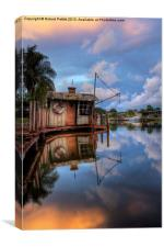 Water House, Canvas Print