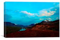 Glen Affric, Canvas Print