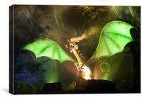 Enchanted Dragon, Canvas Print