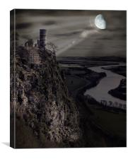 The Bewitching Tower, Canvas Print