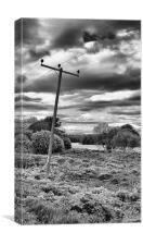 Leaning pole of Perth Inch, Canvas Print