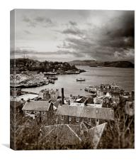 Old Style Oban, Canvas Print