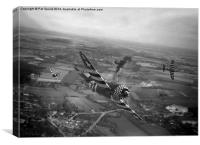 P47 Thunderbolt - D-Day Train Busters, Canvas Print