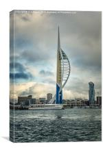 Moody Spinnaker Portsmouth, Canvas Print