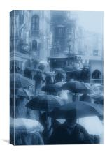 Love in Venice Showers, Canvas Print