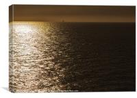 Sunrise view from the Ferry, Canvas Print