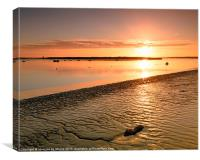 River Medway Sunrise III - Nuclear Explosion, Canvas Print