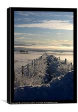 Still Life - Frozen Scotland, Canvas Print