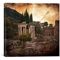 The Remains of The Day , Canvas Print