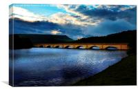 Ladybower Morning, Canvas Print