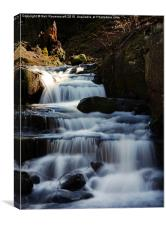 Above the falls , Canvas Print