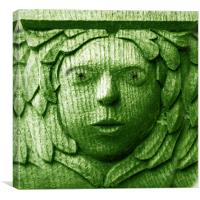 Green Man, Canvas Print