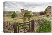 Snowshill, Gloucestershire,England, Canvas Print