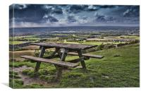 Bench With A View, Canvas Print