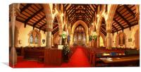 St Marks Broadwater Down, Canvas Print
