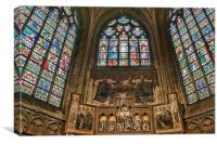 Holy Saviours Cathedral Brugge - Chapel Of St Barb, Canvas Print