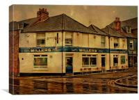 The Millers Arms, Canvas Print