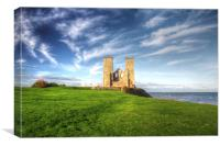 St Mary Reculver , Canvas Print