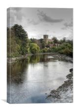 View To Aylesford, Canvas Print
