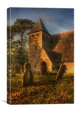 St James Bicknor, Canvas Print