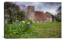 Spring At St Giles, Canvas Print