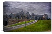 St Mary Church and Wiston House, Canvas Print