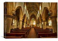 The Shrine of Our Lady of Consolation, Canvas Print