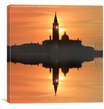Reflections in Venice, Canvas Print
