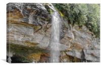 Bridal Veil Falls, Canvas Print