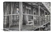 Old Front Porch, Canvas Print
