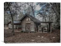 Tool Shed, Canvas Print