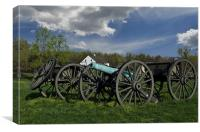 The Cannon & Limber, Canvas Print