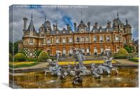 waddesdon manor hdr, Canvas Print