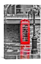 red box Phone case, Canvas Print