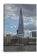 Shard & Hays Galleria London, Canvas Print