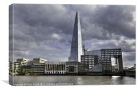 London Shard Panorama, Canvas Print
