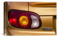Mazda MX5 Car, Canvas Print
