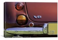 Bristol V8 Car, Canvas Print