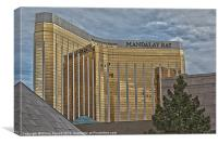 Mandalay Bay Hotel Las Vegas, Canvas Print