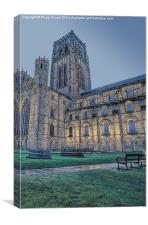 Durham Cathedral Early Morning, Canvas Print